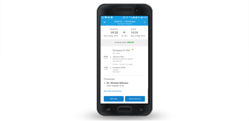 Message & Reschedule With Mobile App